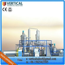 VTS-DP edible oil refining plant,recycle cooking oil,plant oil distillation equipment