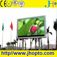 JHG shenzhen outdoor new design brightness full color HD p8 led display