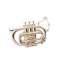 Wiseman DPT-300SP standard/student Pocket trumpet