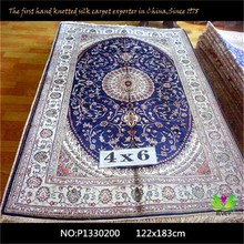 High quality kashmir silk rug,nanyang silk rug,chinese silk rug