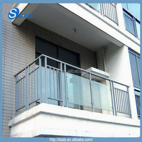 2014 stals various balustrades for sale terrace balustrade aluminium with glass wholesale