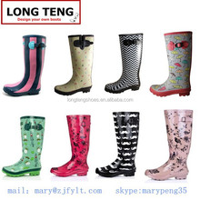 2014 rubber rain boots sex girl picture wellies wellington boot