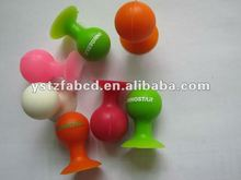 Charming&graceful silicone vacuum suction cup for proping up mobile