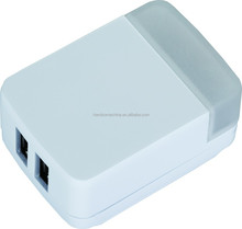 2 Outlet USB Wall Charger USB adapter