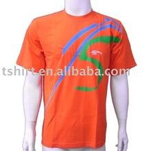 High visibility super soft 100% cotton t-shirt mens