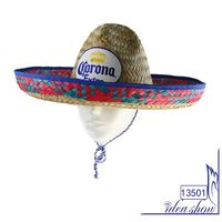 MULTICOLOR big brim Mexican festival Mexcian men straw hat
