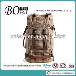 Custom fancy backpack bags manufacturer golf bag usb