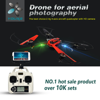 Chrismas Gifts 2015 Hot selling kid toy RC drone ,FPV quadcopter with 2MP HD Camera