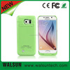 rechargeable wireless mobile phone battery case for galaxy s6