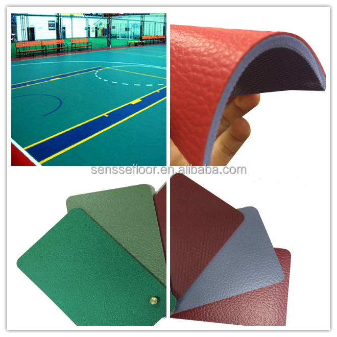 High quality Portable waterproof Indoor Basketball Flooring For Sale