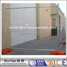 temporary construction fence panels gal dipped(20 years factory)