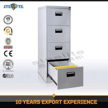 China wholesale graceful metal 4 drawer file cabinet pedestal/custom size steel file cabinet