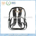2015 Transparent pvc school bag
