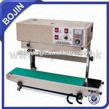 continuous sealing machine for large diameter seal