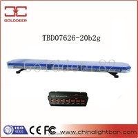 166W Emergency Vehicle LED Warning Light Bar for Ambulance