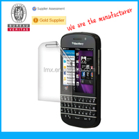 Mobile phone screen guards for Blackberry Q10 oem/odm(Anti-Glare)