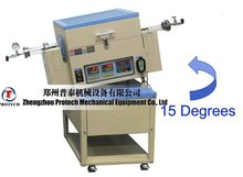 tilting electric small 1200.C rotary tubular furnace