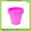 2014 new design travel collapsible silicone folding mug cup