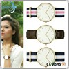 2015 Hoysale brand minimal japan movt man minimalist watch band leather silicone nylon