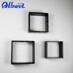 decorative floating cube shelf wall decor