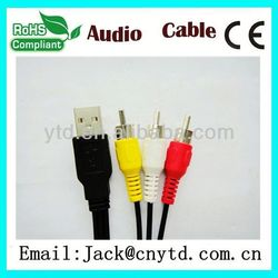 Hot Saling 5 rca to scart Super speed