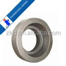 die forged large diameter steel ring gear / titanium steel gear ring