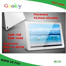 10 Inch Quad Core IPS 1280*800 3G Call 16GB Ultra Slim g g touch screen smart 3g city call android phone tablet pc
