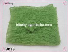 B015 el recién nacido de fotos de regalo envuelto del ganchillo del hilado de tela 40* 60 cm