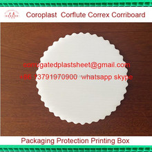 pp plastic corrugated cake boards