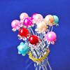 Hot sale beautiful hair accessary,color hair clip,pearl hair clip