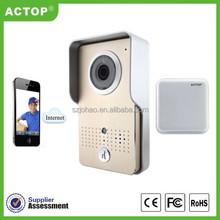 ACTOP newest wifi doorbell smart security camera wifi door phone wifi mp3 doorbell sounds