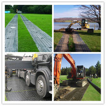 High Density Polyethylene plastic temporary road mats with the best price