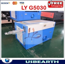 LY G5030 industrial grade laser engraving and cutting machine,Wood Laser Engraving Machine,Auto cut-off function If non-water