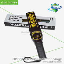 Handheld Metal Detector for Personal Security Inspection