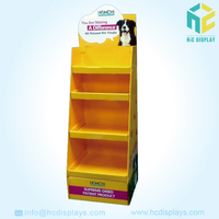 Best selling pop up cardboard display stand