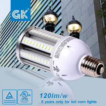 Waterproof outside post top led bulb 36W led garden light E26 E39 mogul base 5 years warranty