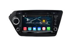 Quad-core processor d din car dvd for Kia K2(2011-2012) car navigation with 3g wifi