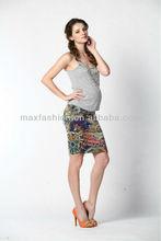 Agradable moda y nuevo diseño <span class=keywords><strong>de</strong></span> la falda corta <span class=keywords><strong>de</strong></span> maternidad para las para mujer