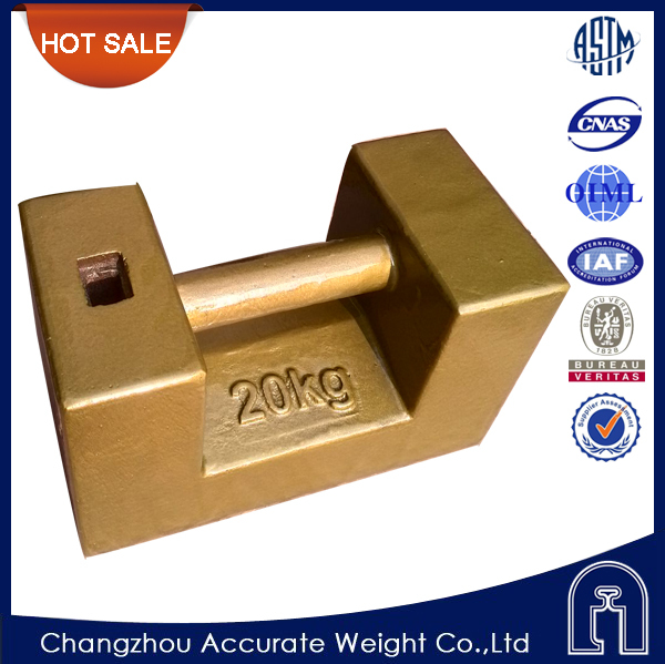 Oiml Test Weight M1 20kg Cast Iron Test Weight Weight