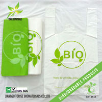 biodegradable plastic shopping bags tote bags in roll