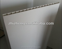 2014 500mm*30mm PVC Hollow Pig farm fence panel, pig farm in india