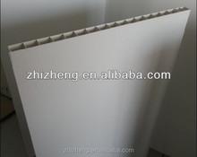 2014 500mm*30mm PVC Hollow Pig farm fence panel, pig farm in india