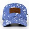 unique sport baseball cap hat/print oem baseball cap