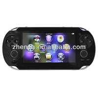 Best Quality Mp6 Player Games Download Free Support 32 Bit BIN Format Games 4.3-Inch TFT Screen