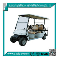6 person golf cart for sale, electric, CE approved,EG2048KSZ, brand new