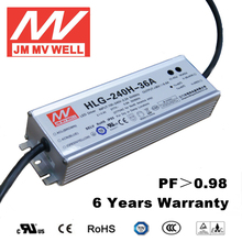 200w led driver 36v waterproof ip67 with TUV CB CCC CE UL RoHS EMC 6 years warranty