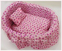 pink princess dog bed/pet bed