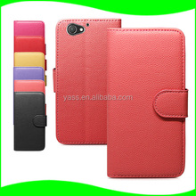 Manufacturer Sell Blank Sublimation leather flip cover cases for Sony Z2 mini/for sony xperia z2 mini