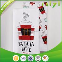 pure cotton thin tea kitchen towel wholesale