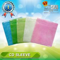 fabric cheap cd dvd plastic sleeve free sample